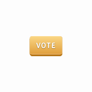 Gold vote button with CSS3 linear gradient background and border radius