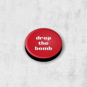 3D realistic drop the bomb button with CSS3