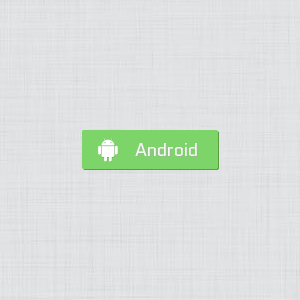 Android flat button made with CSS3