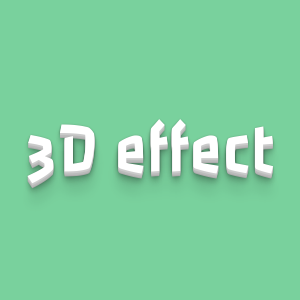 3D text effect with CSS3 shadow