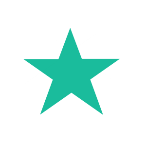 Star shape with 5 points made with CSS3 border