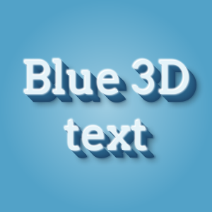 3D text effect with deep shadow on CSS3