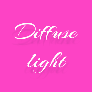 diffuse light css3 effect